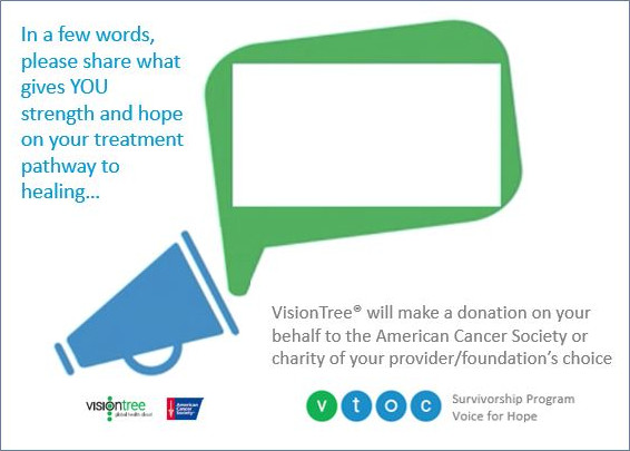 One for the Cure | VisionTree | Patient-Centered Outcomes
